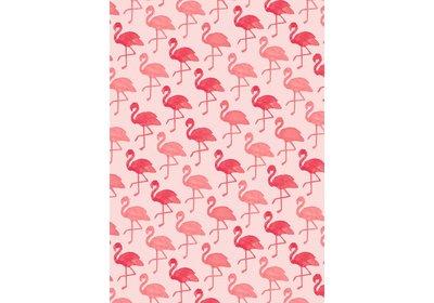 Kadopapier 30/50 cm 200 meter Flamingo pink