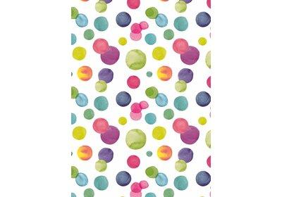 Kadopapier 30/50 cm 200 meter Summer dots