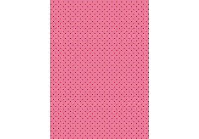Kadopapier 30/50 cm 200 meter Little dots pink