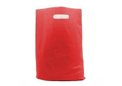 Plastic draagtas Red SALE  á 1.000 stuks