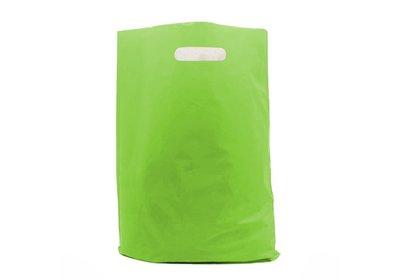 Plastic draagtas Green SALE  á 1.000 stuks