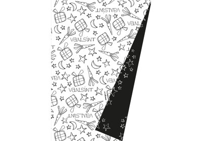Sinterklaas kadopapier 30/50 cm 100 m. Sint doodles