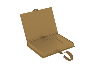 Luxe giftcard doosje Bruin