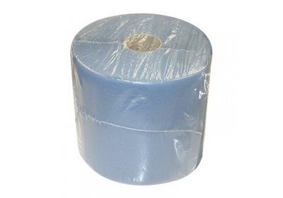 Handdoek papier op rol 26x36cm á 180 meter blauw