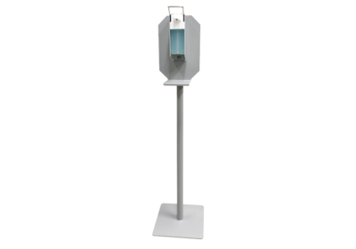 Desinfectiezuil incl. dispenser en 3x 1L Handalcohol 70%