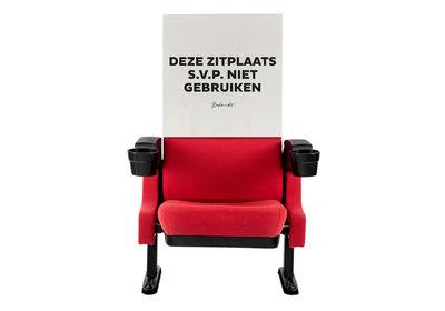 Papieren hoezen - Deze zitplaats s.v.p. niet gebruiken