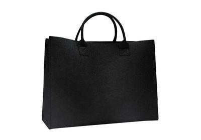 Vilt Luxe Shopper Zwart