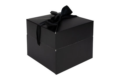 Luxe doosje pop up zwart