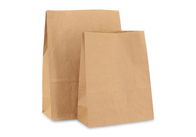 Papieren blokbodemzak Doggy Bag - Grocery Bag