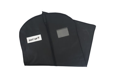 Kledinghoes Peva zwart Suit Up