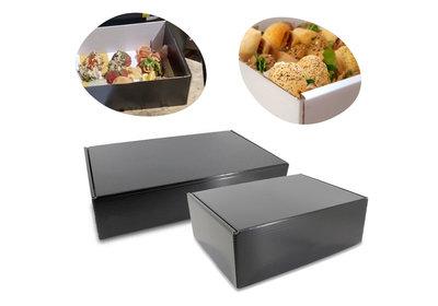 Food take away doos Zwart