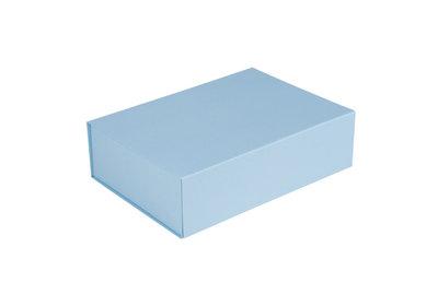 Luxe magneet doos Lichtblauw + Glans laminaat