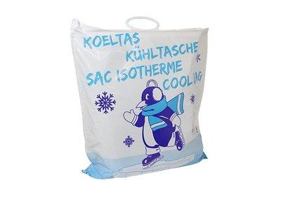 Plastic beugel koeldraagtas