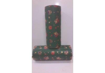 Kadopapier 30 cm 100 meter kerstmis kraft groen
