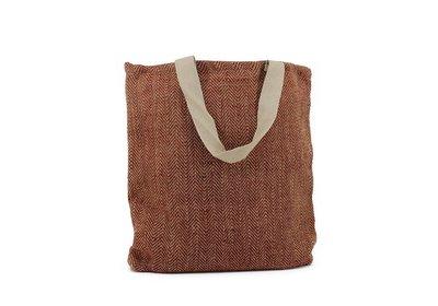 Juca Eco Bag met canvas draaglus rood