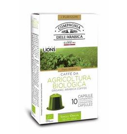 Compagnia dell'Arabica® 10 cups BIO Arabica koffie 'Single Origin'