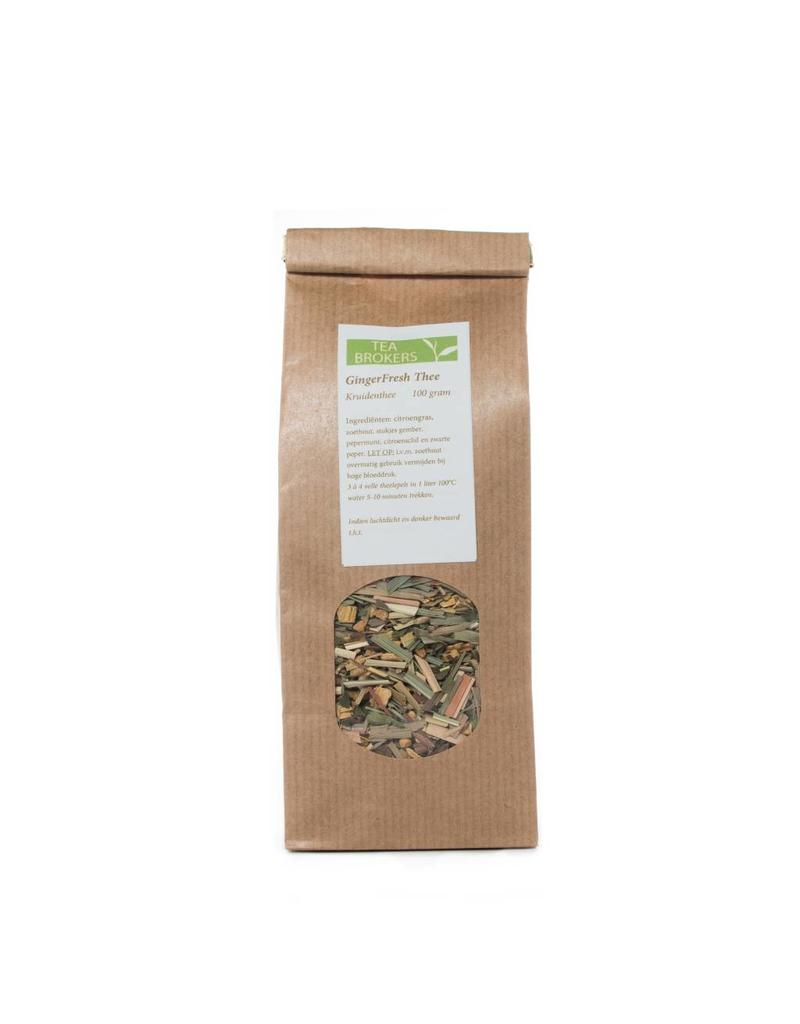 Tea Brokers Sencha Ginger/Appel groene en witte thee