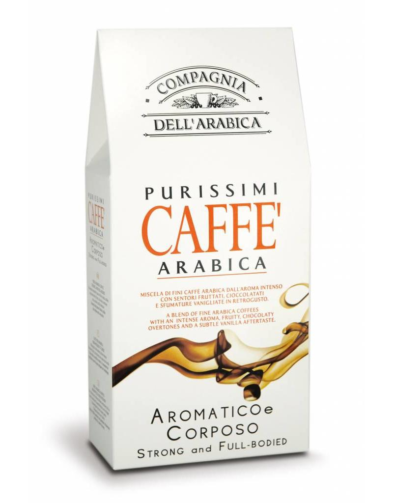 Compagnia dell'Arabica® Purissimi Caffe Arabica gemalen koffie Strong & Full-bodied