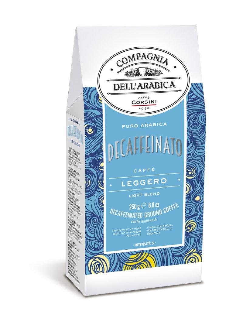 Compagnia dell'Arabica® Pure Arabica Decaffeinato gemalen koffie