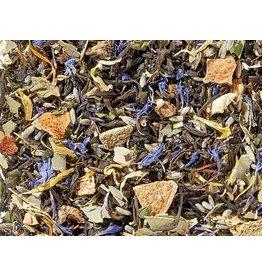Tea Brokers Lavendel & Pepermunt zwarte thee melange BIO met essentiële oliën