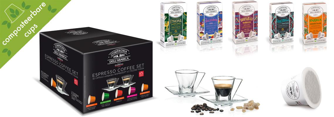 Corsini Cadeau box cups