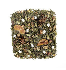 Tea Brokers Mandarijn & kardemom groene thee melange