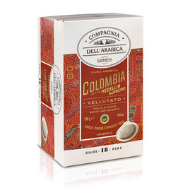 Compagnia dell'Arabica® 18 Colombia Medellin Supremo 'Single Origin' ESE-Servings (Pods)
