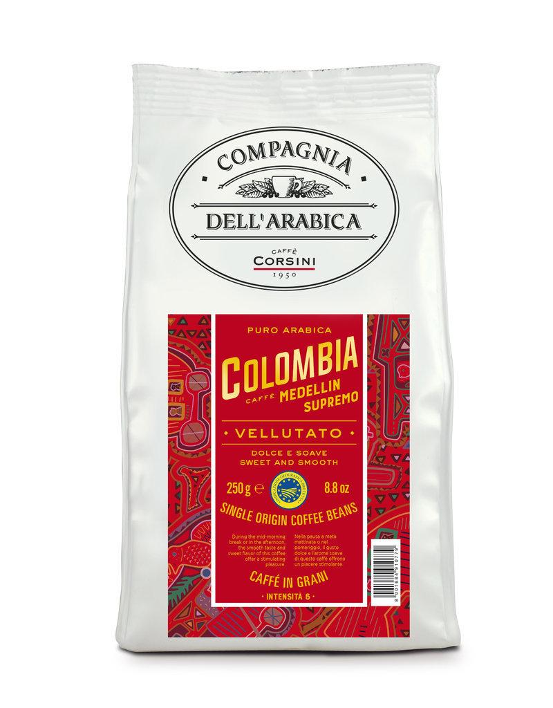 Compagnia dell'Arabica® Colombia 250 gram Medellin Supremo koffiebonen