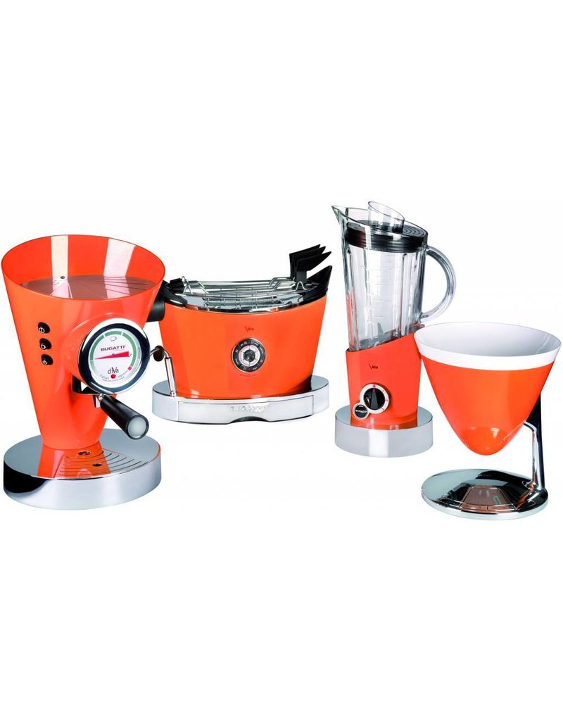 Bugatti Diva espressomachine Orange