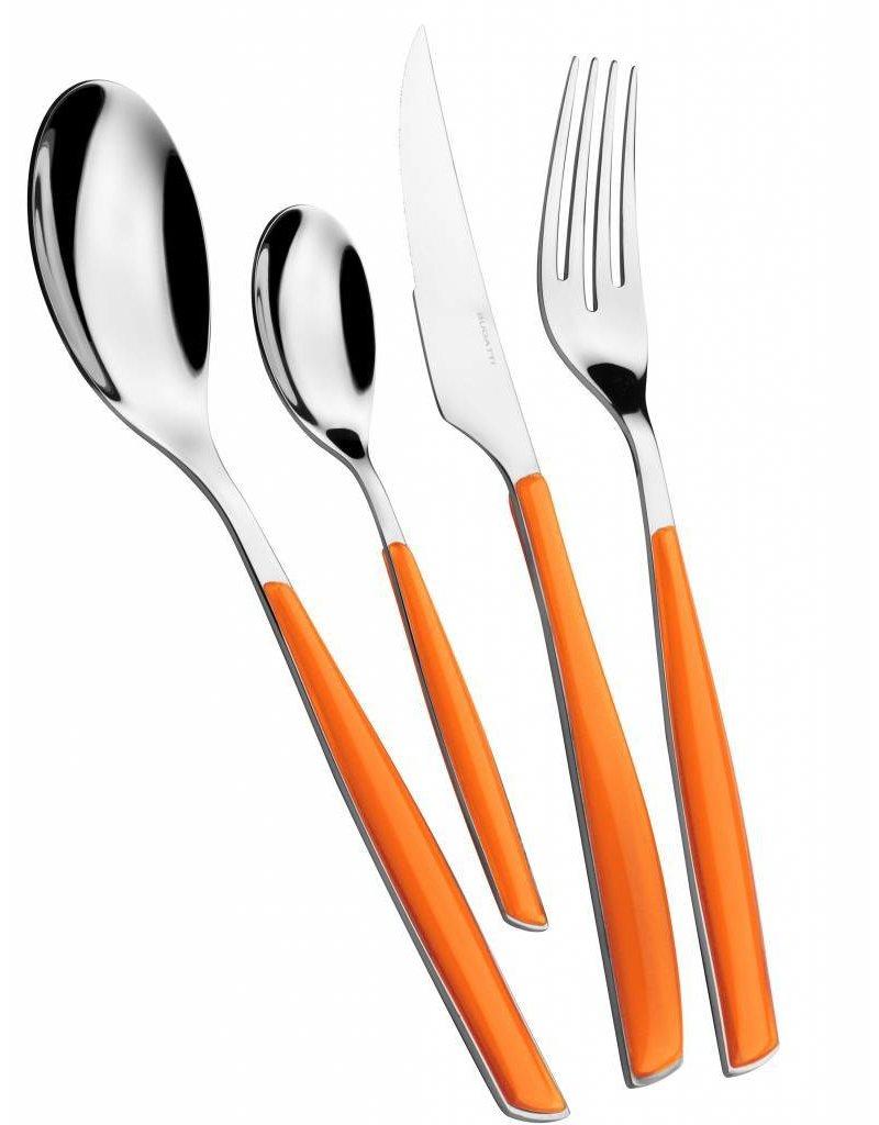 "Bugatti ""Glamour"" bestek set 24 stuks Orange"