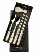 Bugatti Aladdin Chopstickset voor 2 personen Ivory