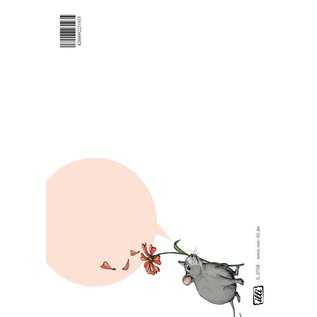 IL0158 | illi | Mouse - postcard A6