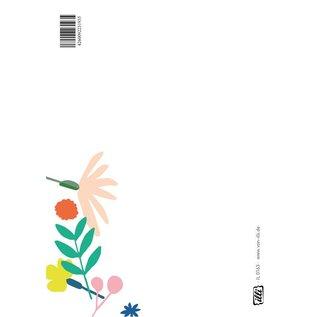 IL0163 | illi | Danke - Postkarte A6