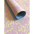 il7002 | illi | Ghypsophila Rose / Yellow - wrapping paper Bogen 50 x 70 cm