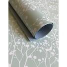 il7000 | illi | Ghypsophila Mint / White 50 X 70 Cm - wrapping paper Bogen 50 x 70 cm