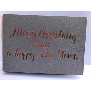 pu029 | Pure | Merry Christmas - folding card  B6