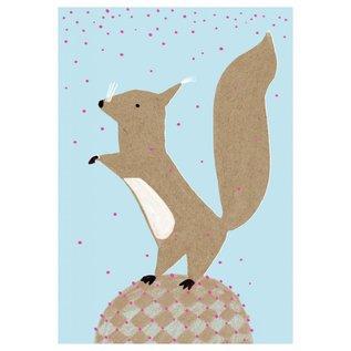 SG115 | schönegrüsse | Eichhörnchen  - Postkarte A6