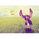 b008 | brocante | Hund - Postkarte A6