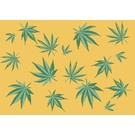cc084 | crissXcross | Cannabis - postcard A6