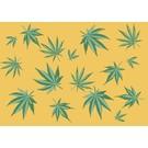 Postkarte - Cannabis