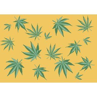 cc084 | crissXcross | Cannabis - Postkarte A6