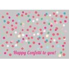 lu017 | Postkarte -confetti to you