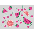 lu001 | luminous | Fruits - postcard A6