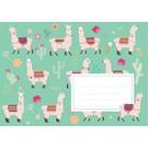 Envelopes C6 - Llamas