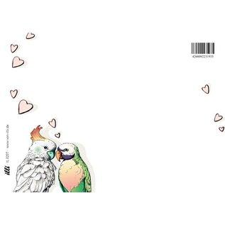 IL0207 | illi | Postkarte -Noni und Lou - Postkarte A6