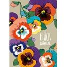 Postkarte - Viola - Glückwünsche
