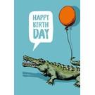 Klappkarte - Timso - Happy Birthday