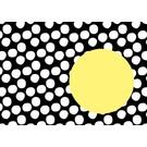 Envelope Nokta - Black-Yellow
