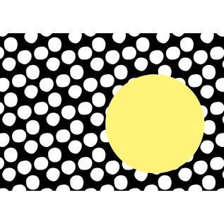 il8500 | illi | Nokta - Schwarz-Gelb - Briefumschlag Set  C6