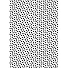 il7023 | illi | Nokta - Black And White - wrapping paper Bogen 50 x 70 cm